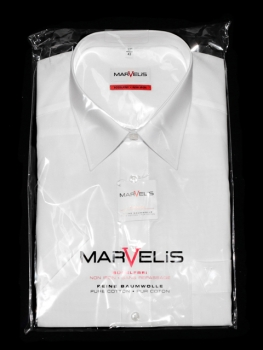 Herrenhemd Marvelis 1/2 Arm (Modern Fit = ehemals Slim Fit)